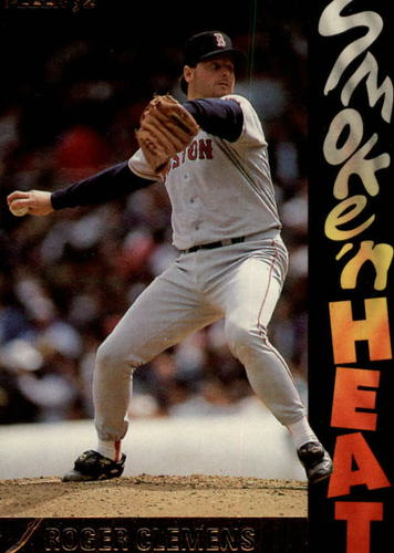 Photo of 1992 Fleer Smoke 'n Heat #S4 Roger Clemens