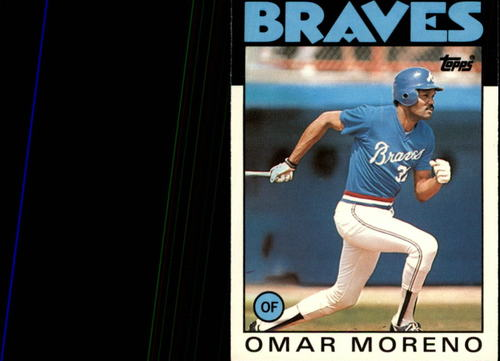 Photo of 1986 Topps Traded #75T Omar Moreno