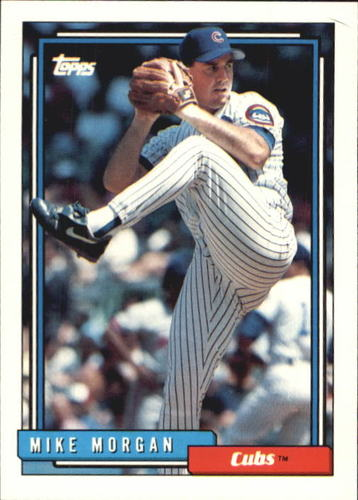 Photo of 1992 Topps Traded #76T Mike Morgan