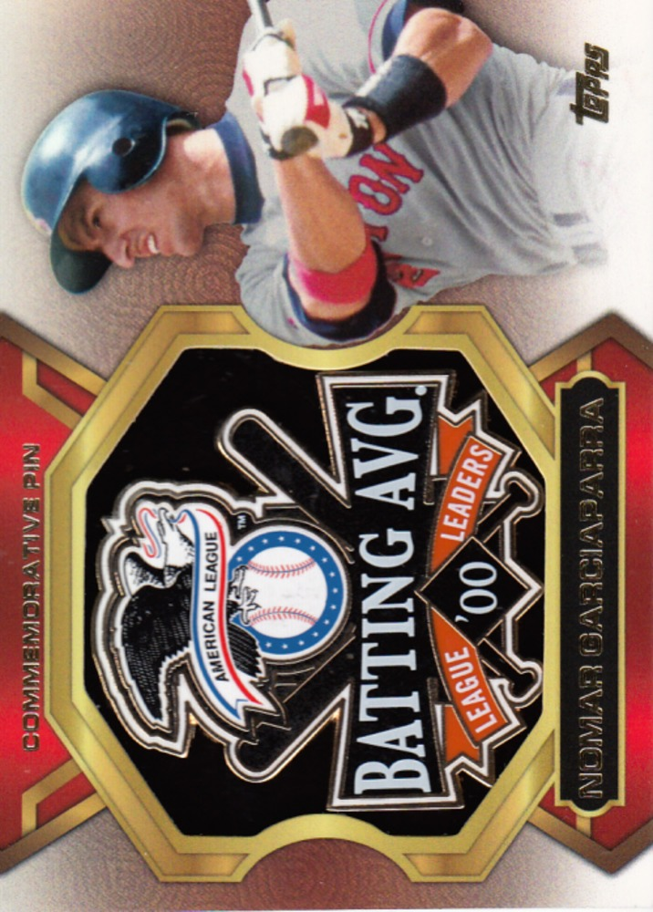 2013 Topps Update League Leaders Pins #NG Nomar Garciaparra