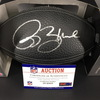 PCC - Rams Isaac Bruce Signed NFL Auction Exclusive Commemorative Hall of Fame Ball