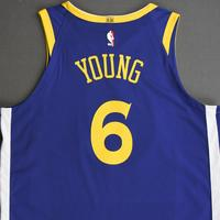 Nick Young - Golden State Warriors - NBA China Games - Game-Worn Icon Edition Jersey - 2017-18 NBA Season