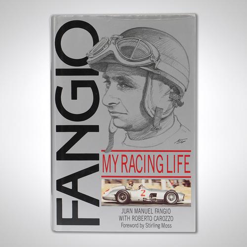 Photo of Juan Manuel Fangio Signed Autobiography