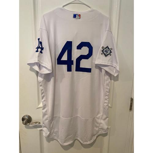 Photo of Blake Treinen Game-Used Jackie Robinson Day Jersey - Size 48