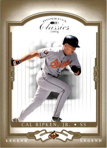 Photo of 2004 Donruss Classics #154 Cal Ripken LEGEND Serial #d/1999