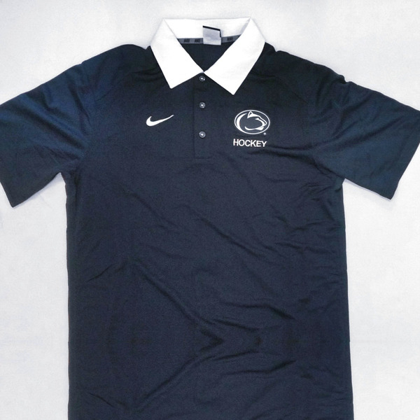 Photo of Penn State Men's Hockey Coaching Style Polo (Size M, Like New)