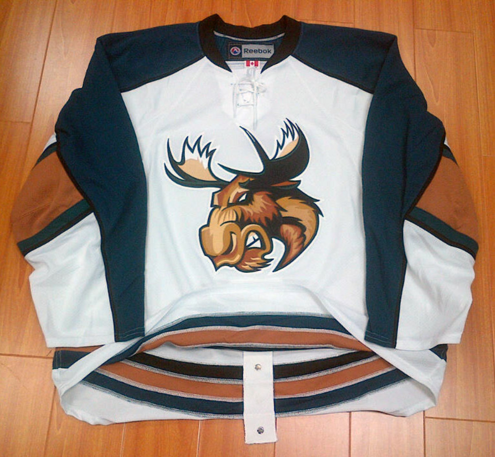 Manitoba Moose AHL On Ice Pro Jersey *Size 58* *Vancouver Canucks Affiliate*