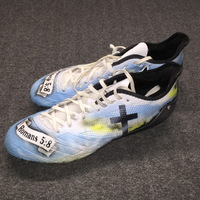 MY CAUSE MY CLEATS - EAGLES NELSON AGHOLOR GAME WORN CUSTOM CLEATS (DECEMBER 3, 2017)