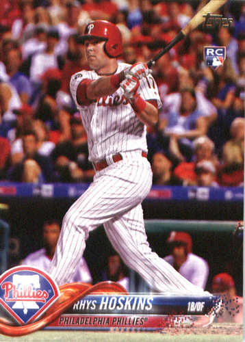 Photo of 2018 Topps #259 Rhys Hoskins RC