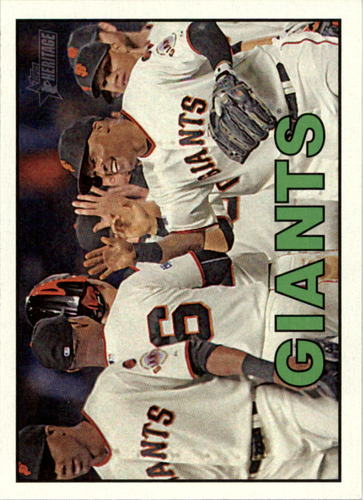 Photo of 2016 Topps Heritage #370 San Francisco Giants