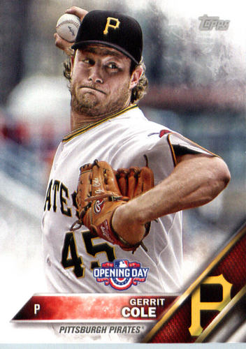 Photo of 2016 Topps Opening Day #OD163 Gerrit Cole