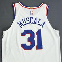 Mike Muscala - Philadelphia 76ers - Christmas Day' 18 - Game-Worn Earned City Edition Jersey