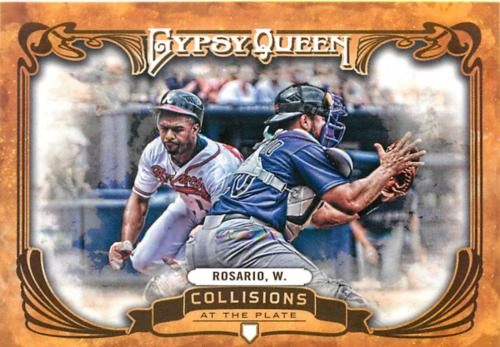 Photo of 2013 Topps Gypsy Queen Collisions At The Plate #WR Wilin Rosario