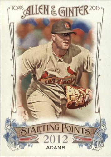 Photo of 2015 Topps Allen and Ginter Starting Points #SP81 Matt Adams