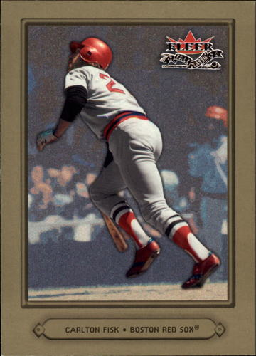 Photo of 2002 Fleer Fall Classics #70 Carlton Fisk