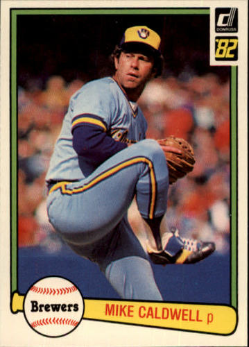 Photo of 1982 Donruss #330 Mike Caldwell