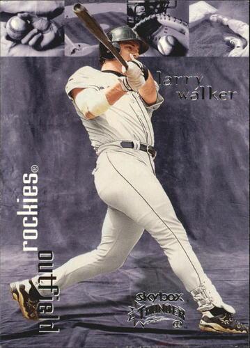 Photo of 1999 SkyBox Thunder #289 Larry Walker