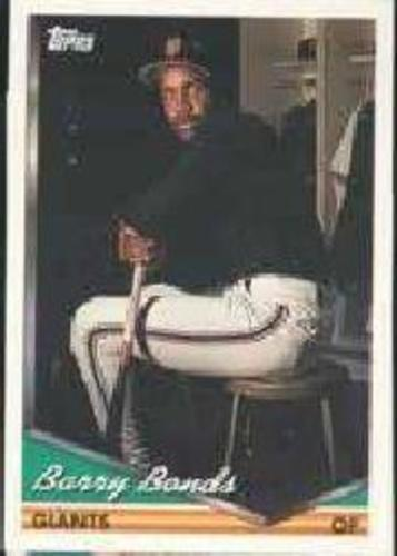 Photo of 1994 Topps Pre-Production #2 Barry Bonds