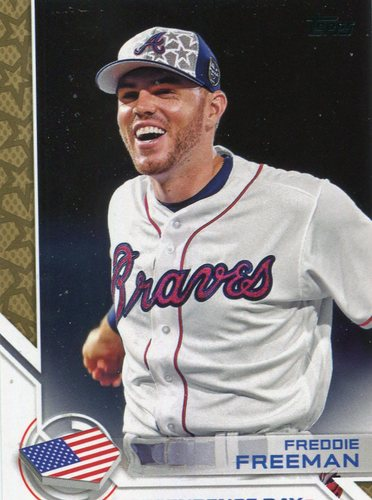 Photo of 2017 Topps Independence Day #ID21 Freddie Freeman