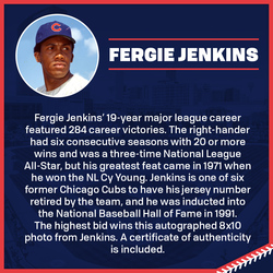 Photo of Fergie Jenkins Autographed 8x10 Photo