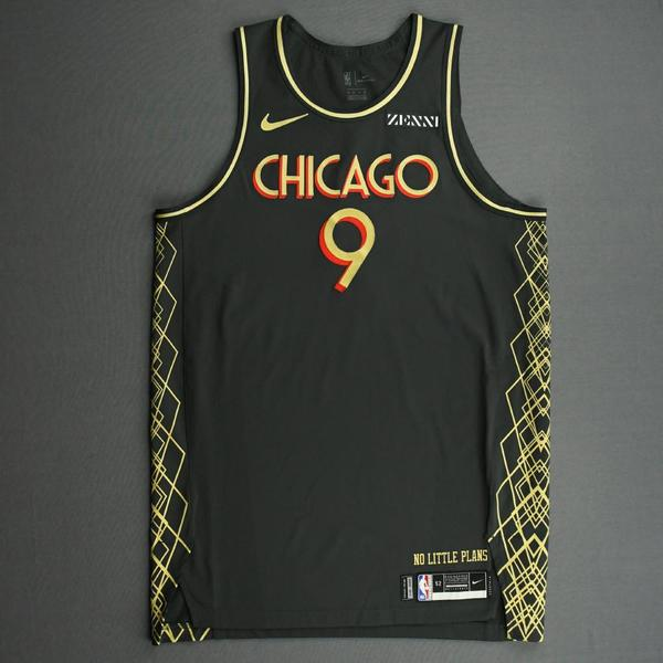 Image of Patrick Williams - Chicago Bulls - City Edition Jersey - 4th Overall Draft Pick - 2020-21 NBA Season