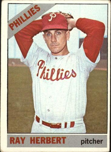Photo of 1966 Topps #121 Ray Herbert