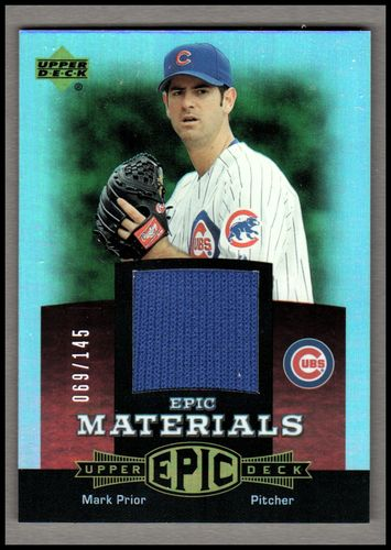 Photo of 2006 Upper Deck Epic Materials Red #MA2 Mark Prior Jsy/145