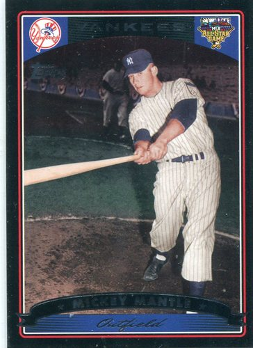 Photo of 2006 Topps All-Star FanFest #4 Mickey Mantle