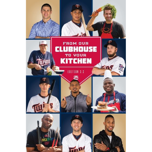 2017 Twins Favorite Things Auction: From Our Clubhouse to Your Kitchen  - Celebrity Cookbook (Shipping Starts Week of 12/10)