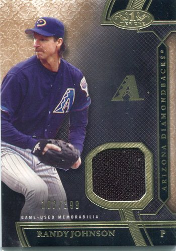 Photo of 2015 Topps Tier One Relics Randy Johnson 102/199 -- Hall of Famer