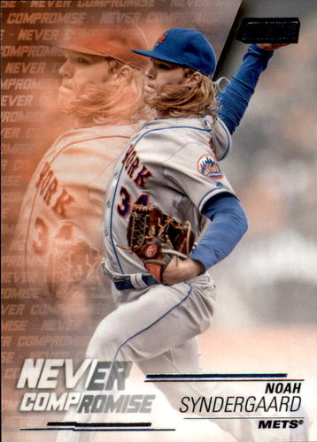 Photo of 2018 Stadium Club Never Compromise #NCNS Noah Syndergaard