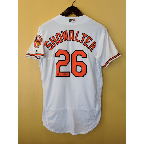 Photo of Buck Showalter - Home Jersey: Autographed