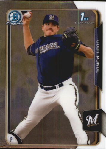 Photo of 2015 Bowman Chrome Draft #47 Cody Ponce