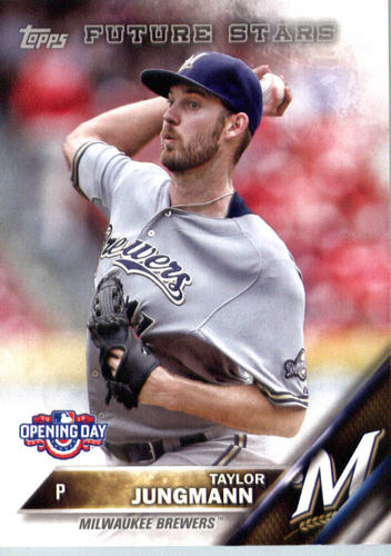 Photo of 2016 Topps Opening Day #OD169 Taylor Jungmann