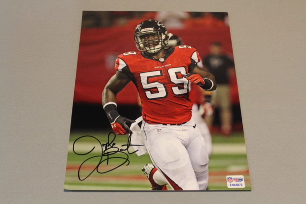 Falcons - Joplo Bartu signed 8x10 photo
