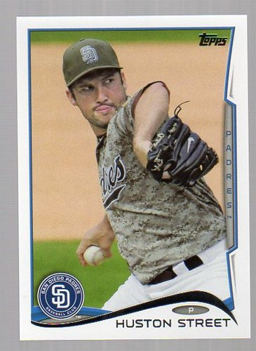 Photo of 2014 Topps #264 Huston Street