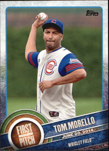Photo of 2015 Topps First Pitch #FP11 Tom Morello