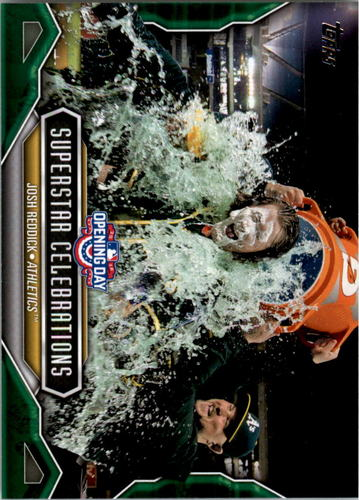 Photo of 2016 Topps Opening Day Superstar Celebrations #SC13 Josh Reddick
