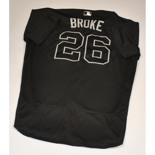"Photo of Doug ""BROKE"" Brocail Baltimore Orioles Game-Used 2019 Players' Weekend Jersey"