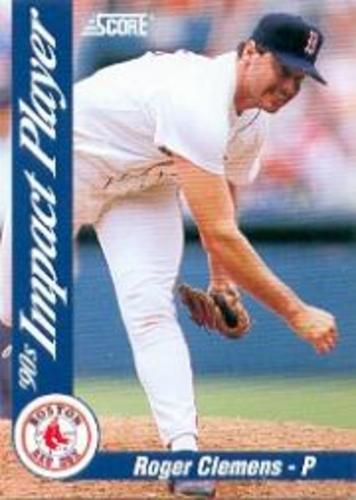 Photo of 1992 Score Impact Players #57 Roger Clemens