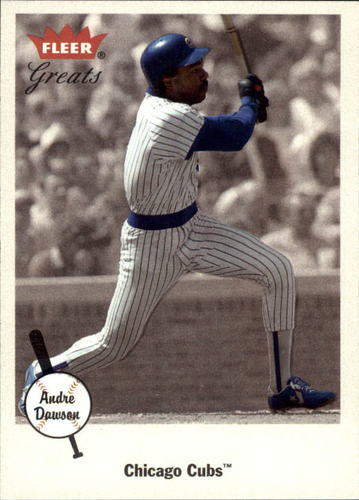 Photo of 2002 Greats of the Game #36 Andre Dawson