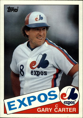 Photo of 1985 Topps Super #13 Gary Carter