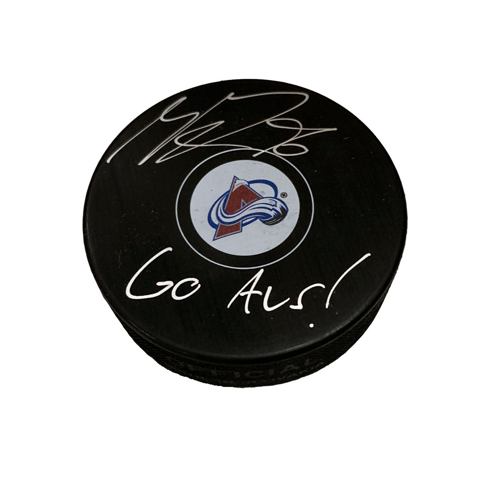 MIKKO RANTANEN Signed Colorado Avalanche Puck W/