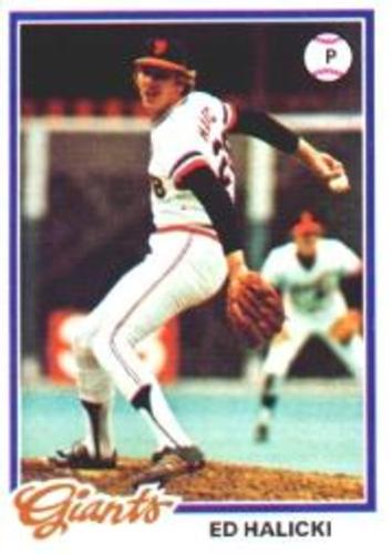 Photo of 1978 Topps #107 Ed Halicki