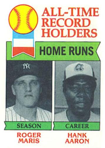 Photo of 1979 Topps #413 Roger Maris ATL/Hank Aaron