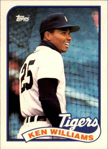 Photo of 1989 Topps Traded #129T Ken Williams