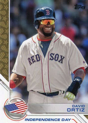 Photo of 2017 Topps Independence Day #ID23 David Ortiz