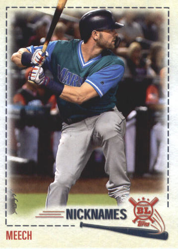 Photo of 2019 Topps Big League Players Weekend Nicknames #PW12 Mitch Haniger