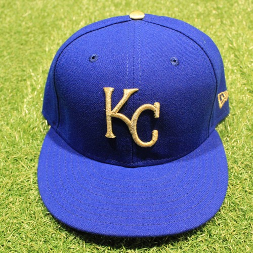 Photo of Game-Used 2020 Gold Hat: Vance Wilson #25 (Size 7 3/8 - DET @ KC 9/25/20)