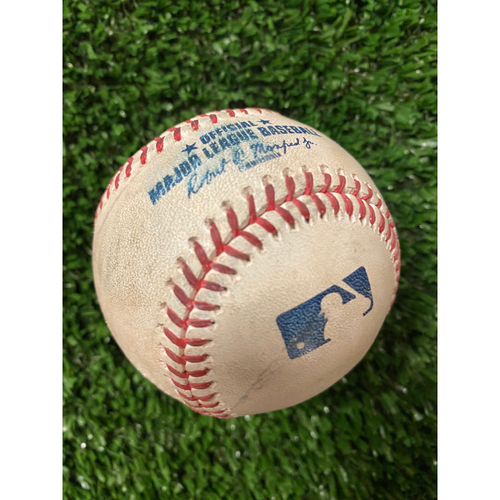 Photo of Ozzie Albies 2021 Game-Used Baseballs - Choose Your Baseball!